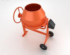 3D Mini Concrete Mixer