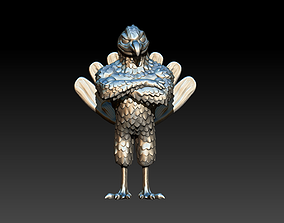 Hokie Bird 3D printable model