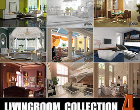 3D model Livingrooms Collection 4