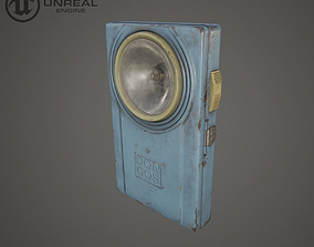 3D model Military flashlight