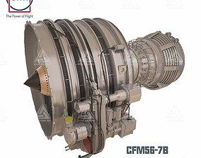cfm56-7b Complete model