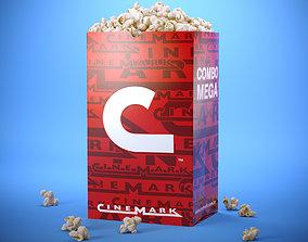 3D Popcorn Bag
