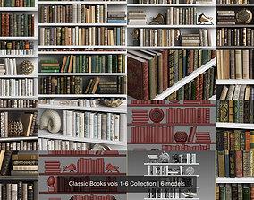 Classic Books vols 1-6 Collection 3D