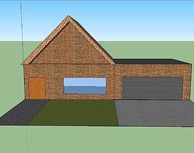 3D model basic Simple House