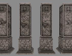 3D model pillar 10