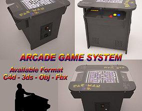 Arcade Game Machine 3D model