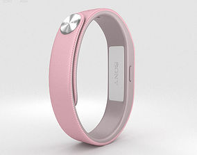 3D Sony Smart Band SWR10 Pink