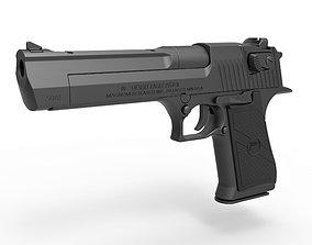 3D Pistol Desert Eagle 50 AE Magnum