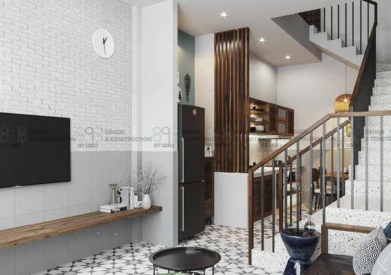 Linh's house IN |CGI Design: Duy Huynh 893.studio