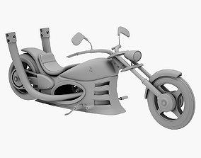 metallic Chopper 3D PRINT