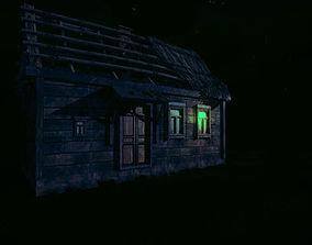 3D asset Abandoned Farmhouse
