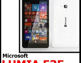 3D model Microsoft Lumia 535 White