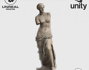 VR Sculpture The Aphrodite of Milos Venus de Milo 3D asset