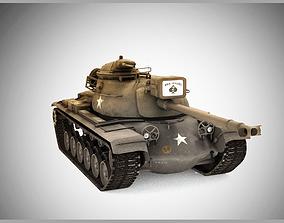 3D model MBT M48A3 Patton