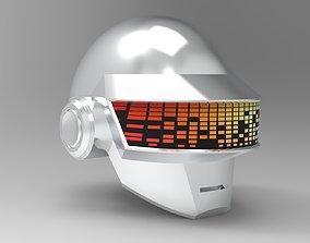 Daft Punk Thomas Bangalter helmet 3D model