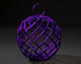Christmas ball new 3D print model