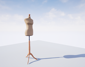 Dress Form - Sewing Mannequin 3D model