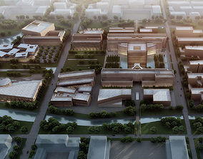 architectural city planning 3D
