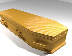 Coffin - Hexagonal Box 3D model