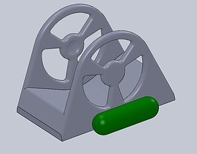 3D print model Solder Roll l Holder