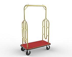 3D model Hotel Trolley 07