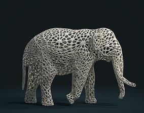 3D printable model Mesh Elephant