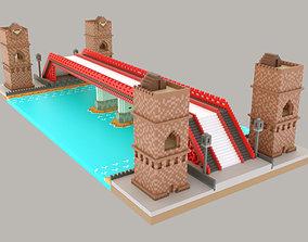 3D asset Pixel Bridge