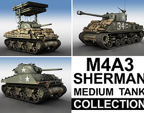 normandy M4A3 Sherman - Collection 3D