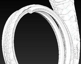 3D print model Cobra ring