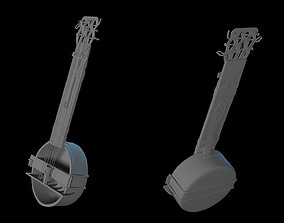 3D model Cartoon Cheap Banjo