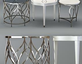 3D Bernhardt Calista Accent Tables