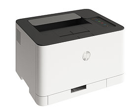 HP Color Laser 3D model