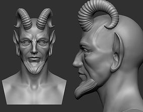 Fantasy head base mesh 3D print model
