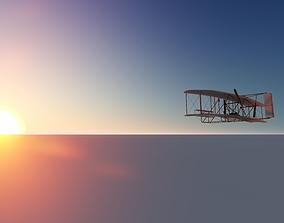 3D The Wright Flyer carolina