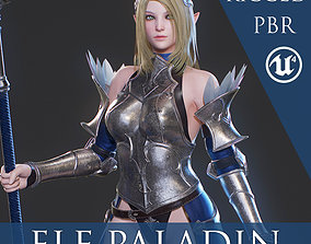 Elf Paladin - Game Ready 3D model