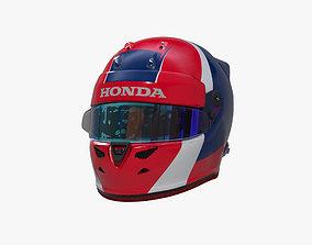 Kvyat helmet 2019 3D model