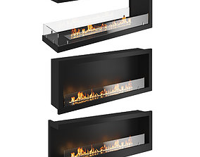 Bio fireplaces 2 3D