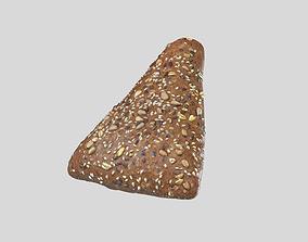 3D model Multigrain Triangle Bread Roll Photoscan