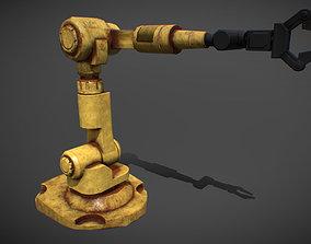 electronics mechanical hand 3D model