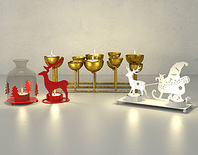 Christmas Candle Holders by ZARA HOME 3D