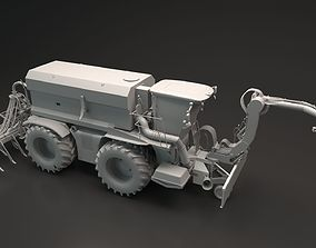 Xerion Farming Vehicle 3D model
