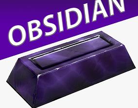 Obsidian Ingot 3D model