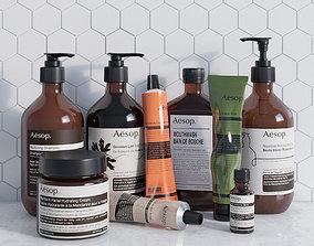 Aesop Cosmetics soap 3D