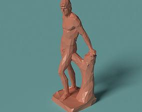Mars Polygonal Statue printable