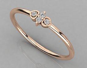 Women solitaire ring 3dm render detail rings jewellery