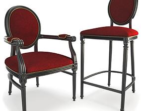 Baroque Furniture 3D