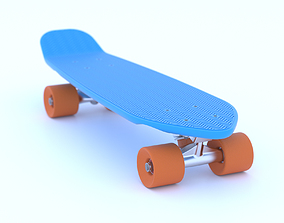 3D Penny skateboard one