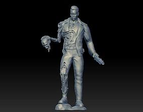 Arnold Schwarzenegger Terminator 3D model