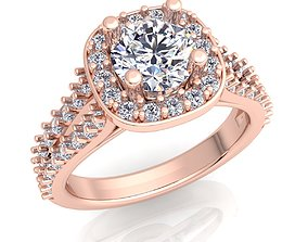3D print model Woman Ring jewelry engagem