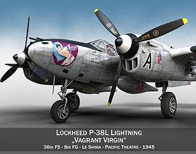 Lockheed P-38 Lightning - Vagrant Virgin 3D